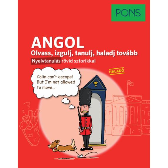 PONS ANGOL Olvass, izgulj, tanulj, haladj tovább