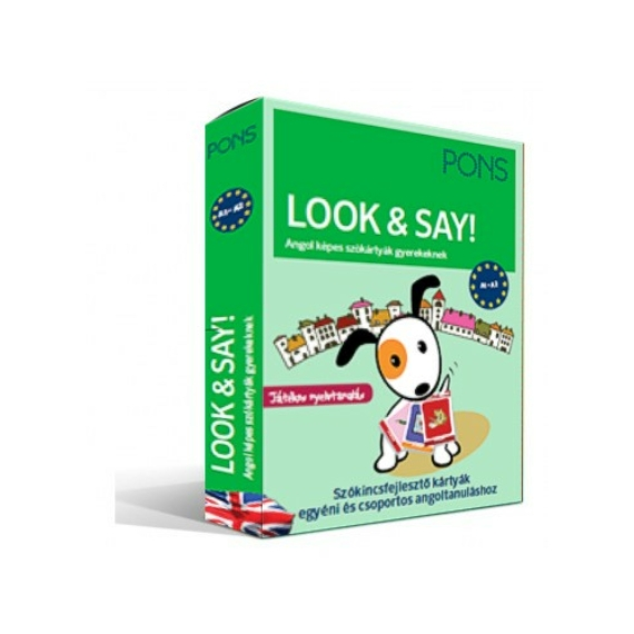 színes angol szókártyák gyerekeknek