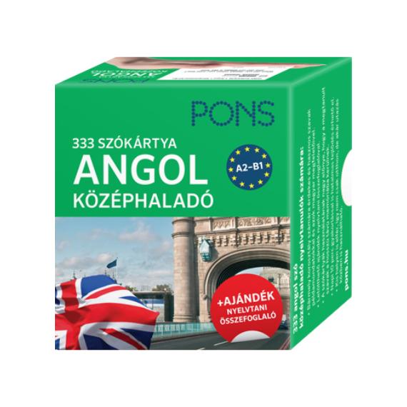 angol szókártya középhaladó