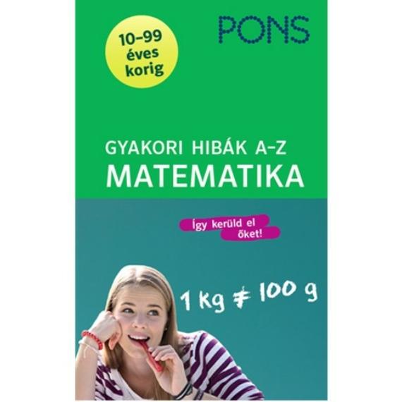 PONS Gyakori hibák A-Z Matematika