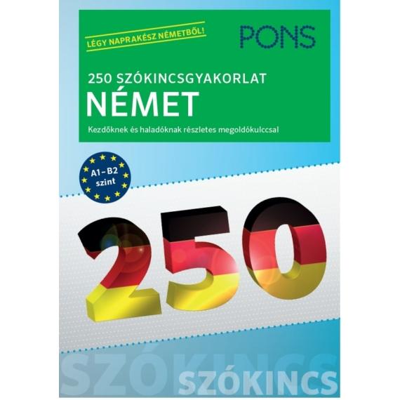 250 szókincsgyakorlat német
