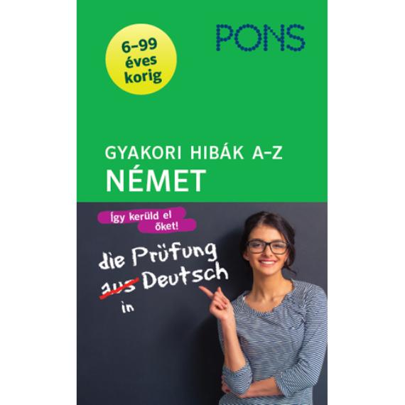 PONS Gyakori hibák A-Z Német