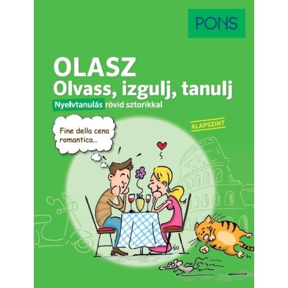 PONS Olasz Olvass, izgulj, tanulj